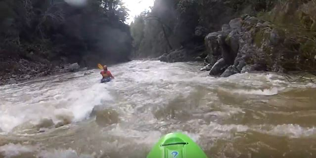 Whitewater Winters on the San Lorenzo River