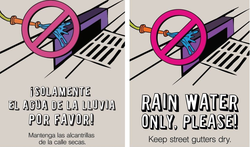rainwater only please