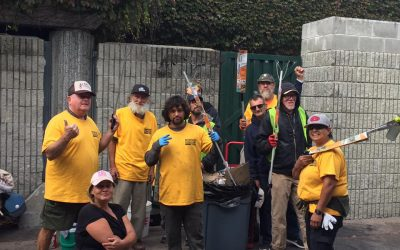 Downtown Streets Team Cleans Riverwalk 7 Days Per Week