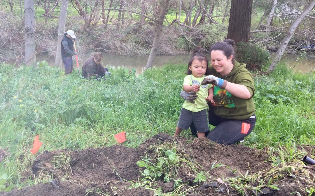 Tannery Residents Enhance San Lorenzo River Habitat