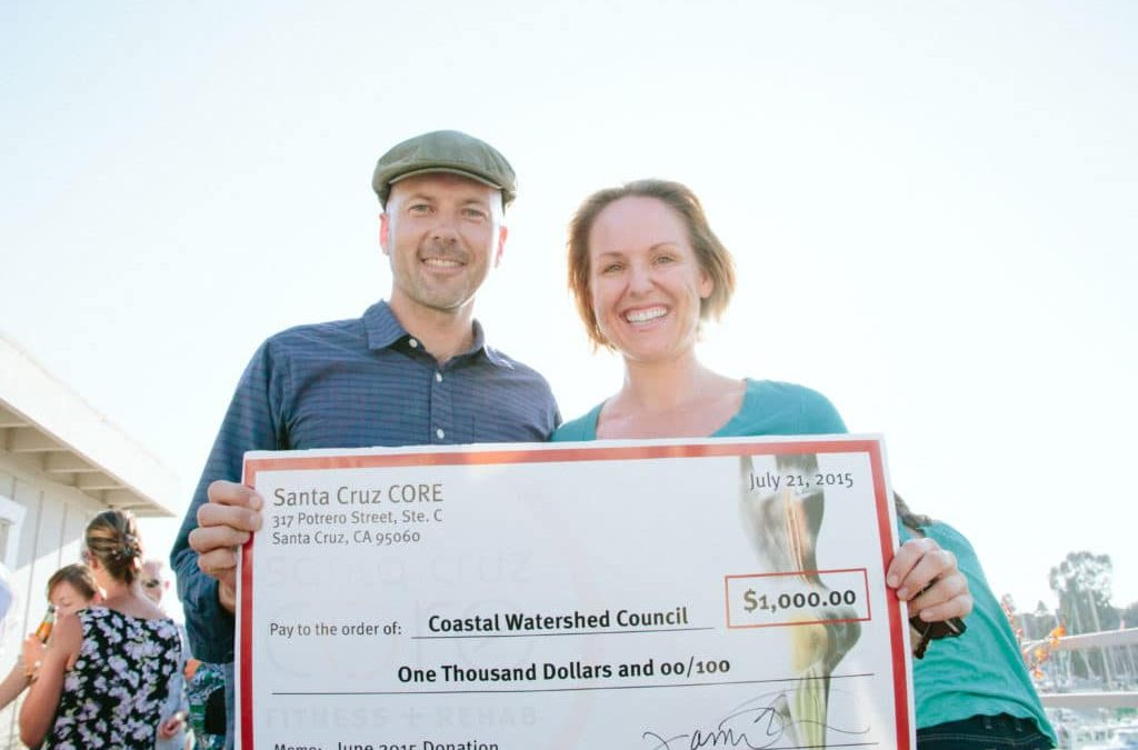 Why Santa Cruz CORE Donates to the Coastal Watershed Council