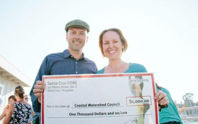 Why Santa Cruz CORE Donates to the Coastal Watershed Council