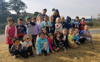 DeLaveaga Kindergarteners Become Watershed Rangers