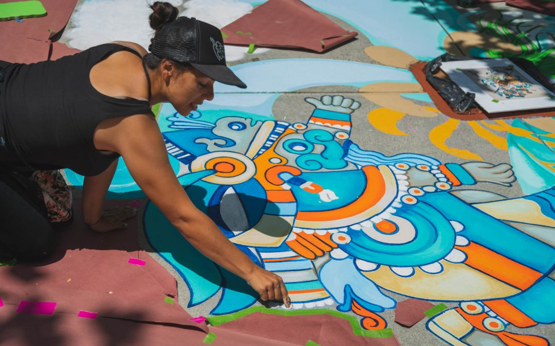 Santa Cruz Paints Its First Storm Drain Murals