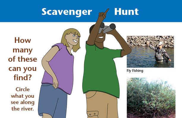 Activity: Santa Cruz Riverwalk Scavenger Hunt