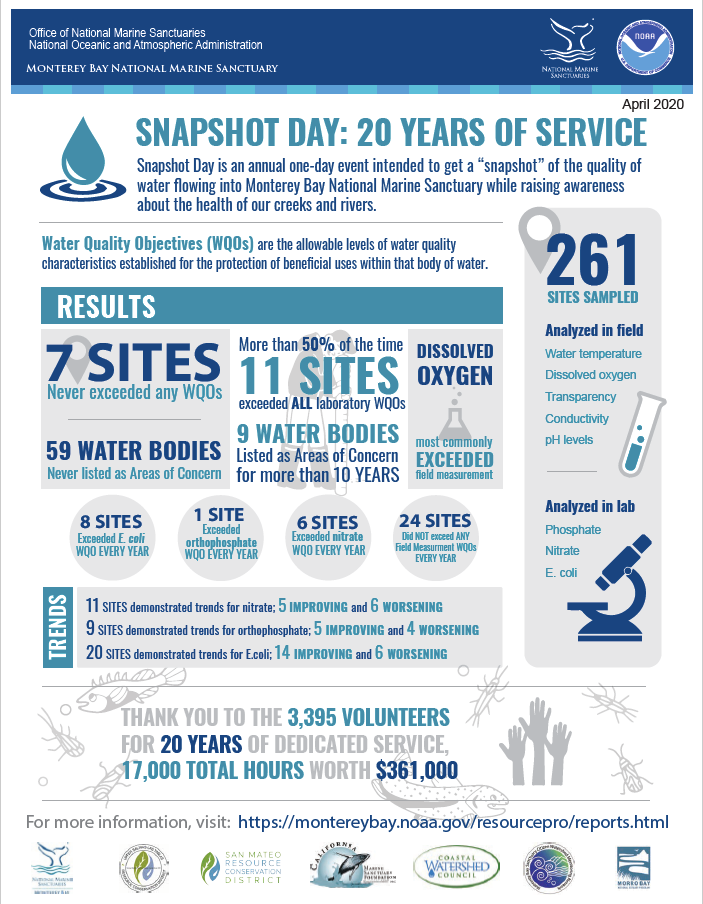 Snapshot Day 20 Year Infographic
