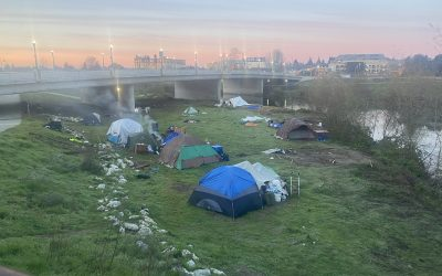 Homelessness at the River: CWC's Position
